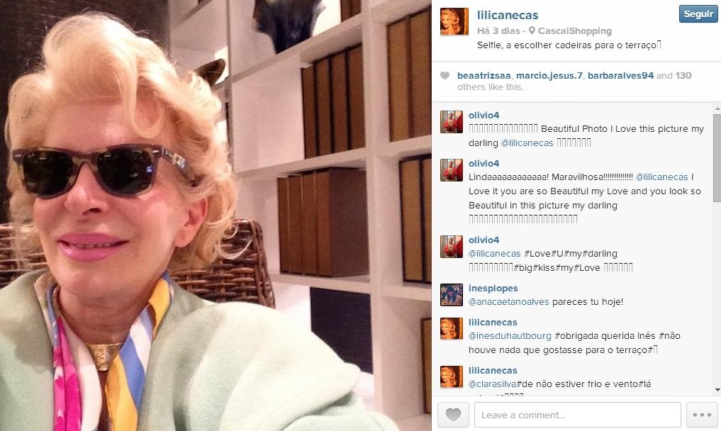 """Foto: Lili Caneças é a nova rainha do Instagram Com mais de 4.700 seguidores, alguns deles fora de Portugal, Lili Caneças publica várias fotografias, pelo menos uma vez por dia – """"costumo publicar ou à noite ou de manhã"""" -, do seu dia-a-dia, de momentos passados com a sua família e outras celebridades. http://go.pwm.pt/1k7OIG2"""